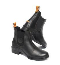 Rhinegold Elite Nevada Zip Front Soft Leather Horse Riding Jodphur Boots