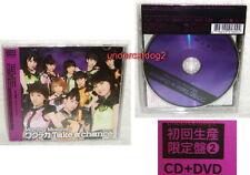 Morning Musume Wakuteka Take a chance Taiwan Ltd CD+DVD (Ver. 2)