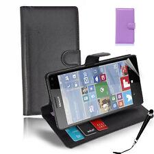 SALE! HQ Wallet Money Card Leather Case Microsoft Nokia Lumia 950 / 950XL + S&S