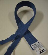 Reißverschluss teilbar VISLON Jeansblau YKK Anorak Jackenreißverschluss Blau NEU