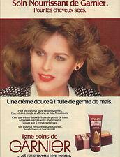PUBLICITE   1978   GARNIER  ligne de soins cheveux secs