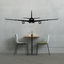Windowed Airplane - Wall Vinyl Decal Sticker Family Kids Room Travel Flight Fun