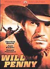 Will Penny: Charlton Heston, Joan Hackett, Donald Pleasence Lee Majors (DVD) NEW