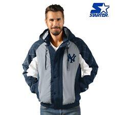 New York Yankees Starter Heavy Hitter Full Snap Hooded Jacket