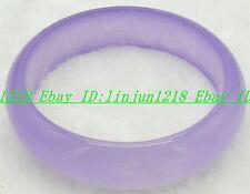 Preety! Natural Purple Alexandrite Jade Gemstone Bracelet Bangle AAA+