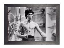 Cotización De Arte Clásico De Bruce Lee motivación cartel Hong Kong Cartel actor estadounidense