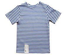 Genuino infantil azul claro Camiseta de manga corta - Todos Los Tamaños rusa