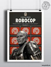 Robocop-Minimaliste Movie Poster Minimal Film posteritty Murphy Detroit Weller