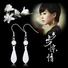 Natural Amethyst Gemstone Crystal Hexagonal Chakra Healing Silver Stud Earrings