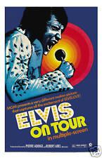 Elvis Presley * Elvis On Tour * Movie Poster 1972