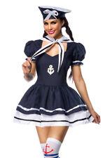 Marinekostüm süßes Marine Kostüm Set Karneval Fasching Komplett Set Kostüm
