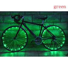20 Led Bike Wheel Lights Night Riding String Lights Mountain Bicycle Steel Light