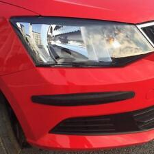 Car Bumper Protector Corner Guard Scratch Trunk Rubber Sticker 1Pair Black SA