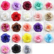 10-25 Artificial Fake Small Rose Silk Flower Head DIY Wedding Party Home Decor