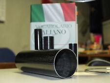 Carbone fibre Moto Terminal Pot d'échappement Silencieux