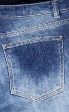 ZARA Slim Fit Ultra Low rise Boot Cut Women's Maternity Blue Jeans Sz 31x32