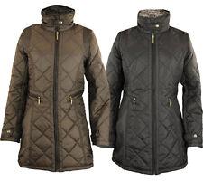 Weatherproof Women's Woven Quilted Full Zip Walker Jacket, Color Options