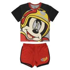 Mickey Mouse Pijama niño manga corta 100% algodón, rojo / Boys Short Pyjama Pjs