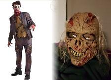 HALLOWEEN DEKO GEIST Zombie-Skelett Totenkopf Figur Horror Gespenst schwarz weiß