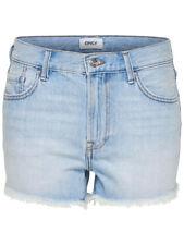 Mujer Cortos Vaqueros onldivine Reg Shorts NOOS Hotpant azul claro Loose Fit