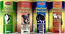 Katzenschreck,Hundeschreck,Marderschreck,Maulwurfschreck je 300g,(100g/1,38€) KH