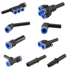 Pneumatik Steckverbindung Adapter Reduzierung Stecknippel Druckluft Verteiler
