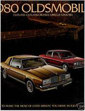 1980 Oldsmobile 26-page Car Sales Brochure - Cutlass Supreme Omega Cruiser
