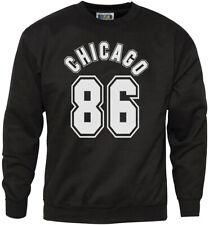 Chicago 86-Sudadera para hombre Streetwear Hipster Juventud &