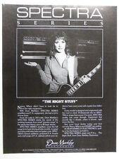 vintage magazine advert 1984 DEAN MARKLEY / NANCY WILSON