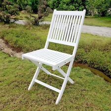 Royal Fiji Acacia Folding Garden Chair (Set of 2)
