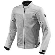 Rev'it Vented Mesh Motorbike Motorcycle Textile Jacket Eclipse - Silver
