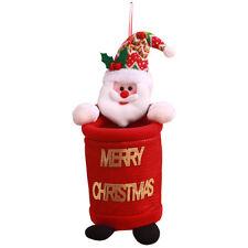 Santa Claus Pants And Treat Christmas Candy Bag Xmas Party Decoration LJ