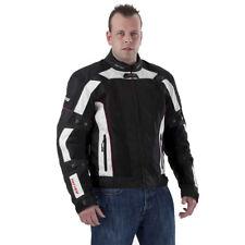 RAYVEN 4 ESTACIONES NEGRO, Blanco Impermeable Motocicleta Moto
