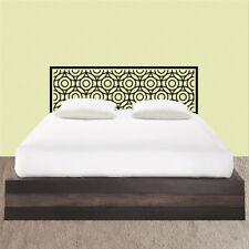 Adhesivo decorativo cama diseño habitacion dormitorio CABECERO MOSAICO CIRCULOS