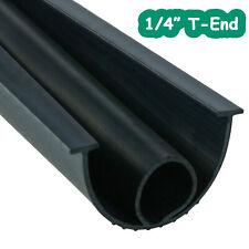 """1/4"""" T-End Garage Door Bottom Weather Seal Buffering Replacement (10'/16'/20')"""