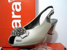 Ara Damenschuhe Sandaletten Sandalen Schuhe platin