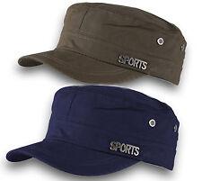 Classic Plain Sport Hat Cadet COMBAT FIELD MILITARY CAP STYLE PATROL Baseball