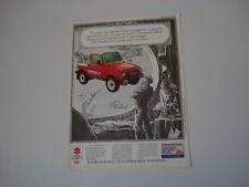 advertising Pubblicità 1990 SUZUKI SAMURAI
