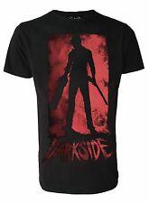 Motosierra muerto Genuino Darkside Película De Terror Evil Dead Inspirado Camiseta para hombre