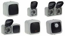 AP Schalter Steckdose Doppelsteckdose Schalter/Steckdose Bewegungsmelder
