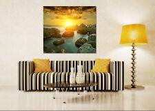 3D Seascape 849 Wall Stickers Vinyl Murals Wall Print Deco Art AJ STORE AU Lemon