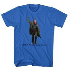 Breakfast Club Movie Fist Pump 2 In Color Adult T-Shirt Tee