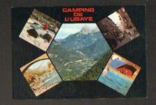 LE LAUZET / UBAYE (04) CANOE KAYAC , PECHE à la ligne au CAMPING