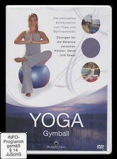 DVD YOGA - GYMBALL (Yoga und Gymnastik) ***** NEU *****