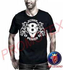 maglietta SCANIA legend uomo maglia t shirt t-shirt camion camionista