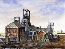 Cortonwood Colliery - 1873 - 1985 - Ltd Ed Print - Pit Pics - Coal Mining