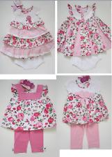 Girls Dress Baby Toddlers Beetle Juice designer tunic top leggings frills pink.