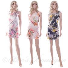 Vestido elástico floral Wiggle le gusta SHE Talla S/M de noche de fiesta de verano señoras