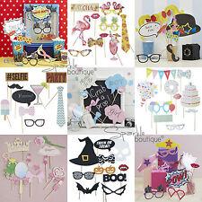 PHOTO Booth Materiale Di Scena-Party Games-SELFIE KIT/Set-Instagram SELFIE Divertente UK venditore!