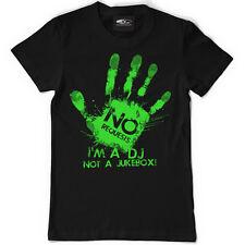 Technics / DMC T-Shirt - no. Request, I'm a DJ NOT A Jukebox! Black (S-XXL) D080